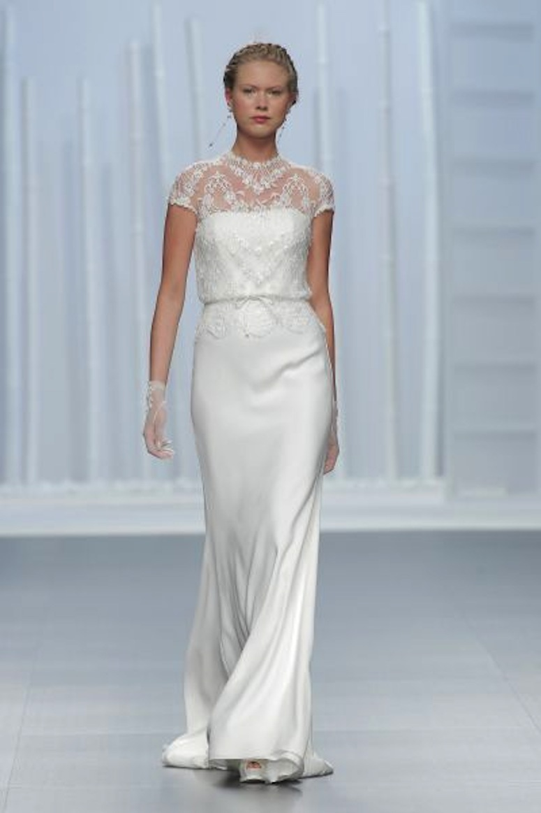 White Day   Barcelona Bridal Week – Rosa Clará – LOST IN VOGUE by ...